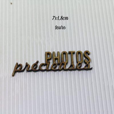 Photos précieuses