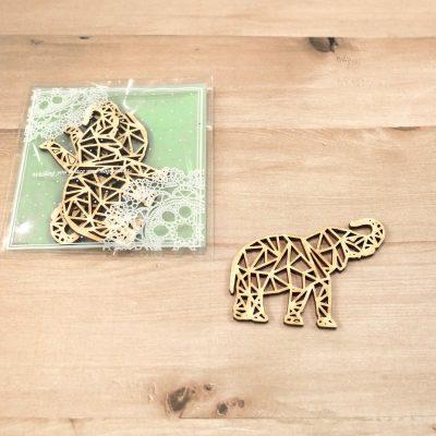 Sachet 3 éléphants origami