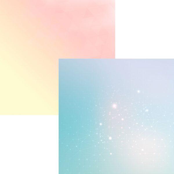 Nuances d'élégance: Constellations/Premiers rayons Recto verso