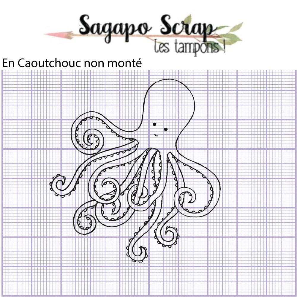 tampon pieuvre Sagapo Scrap