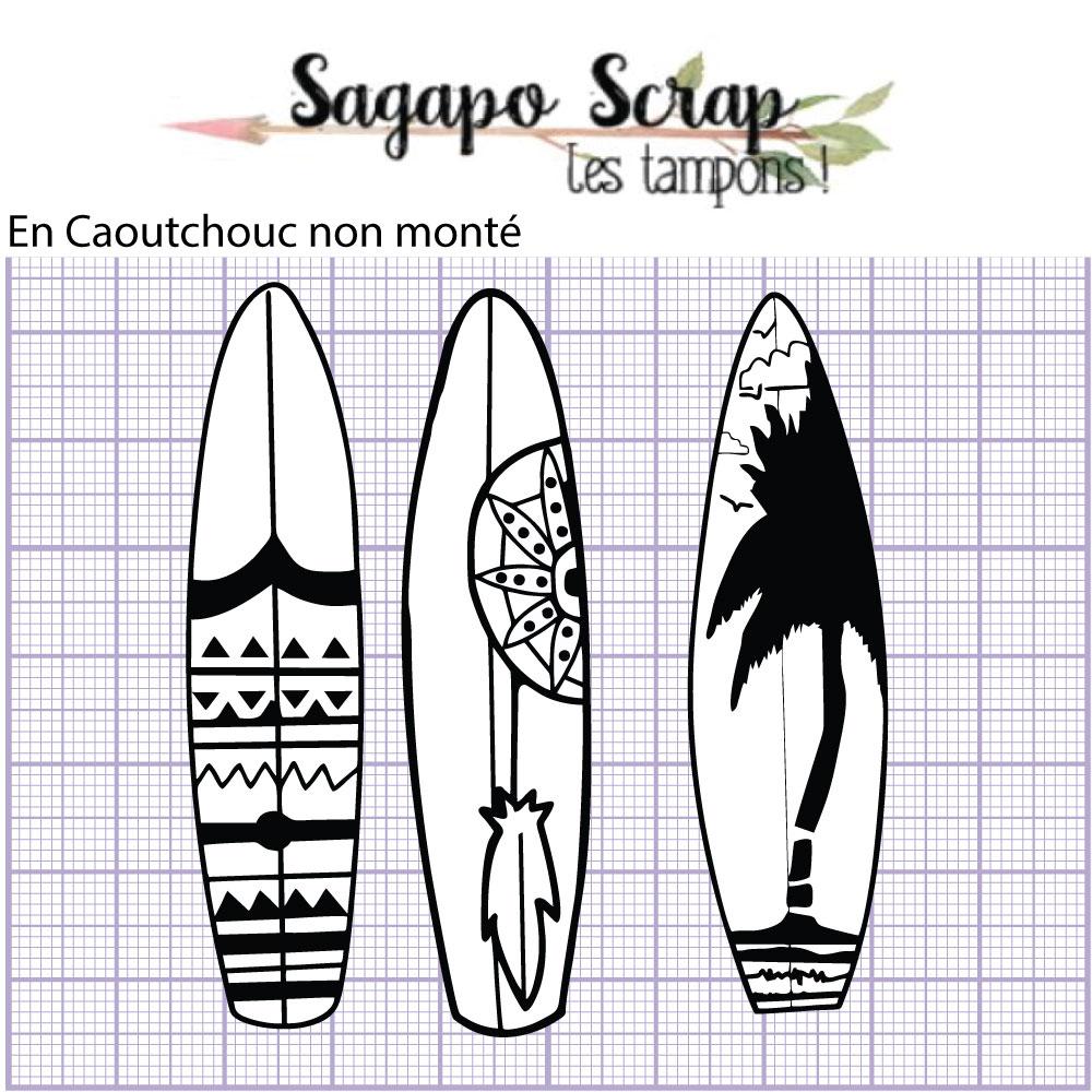Tampons planches de surf Sagapo Scrap