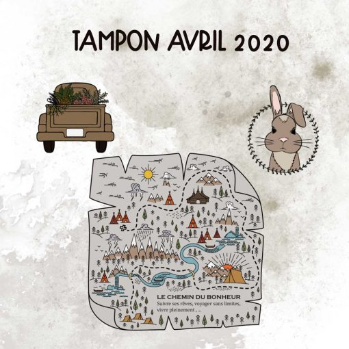 Planche de tampons de Avril 2020