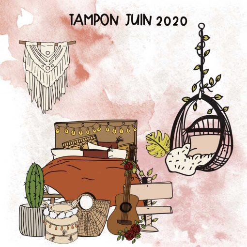 Planche de tampons de Juin 2020