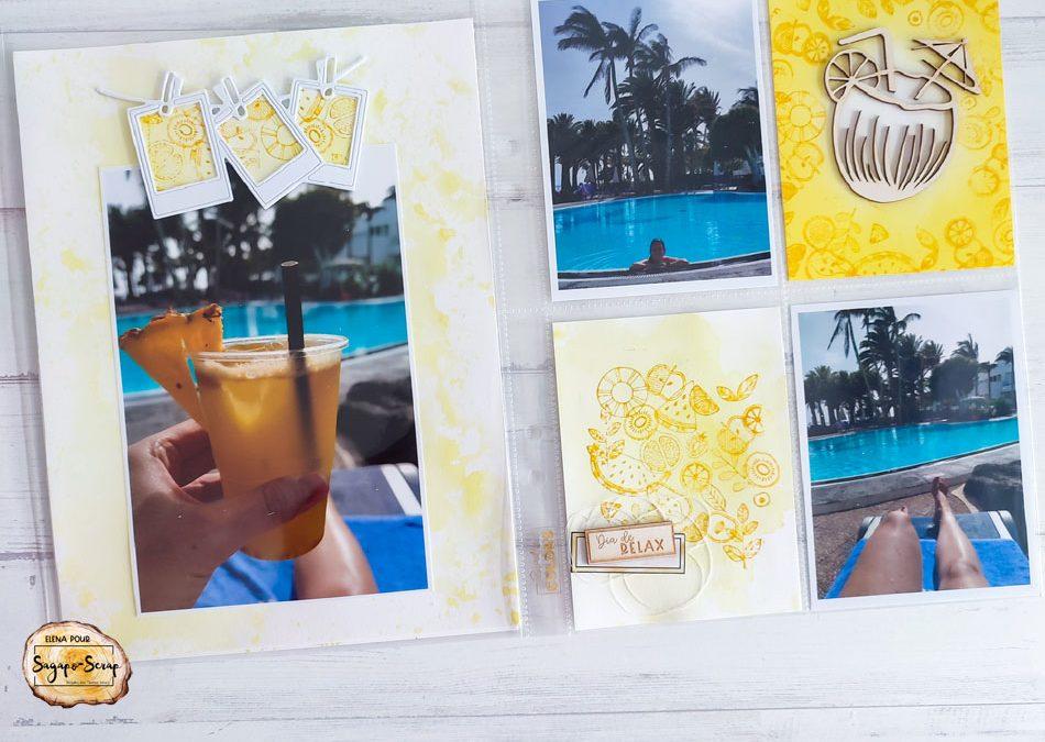 Créer des cartes de Project Life par Elena