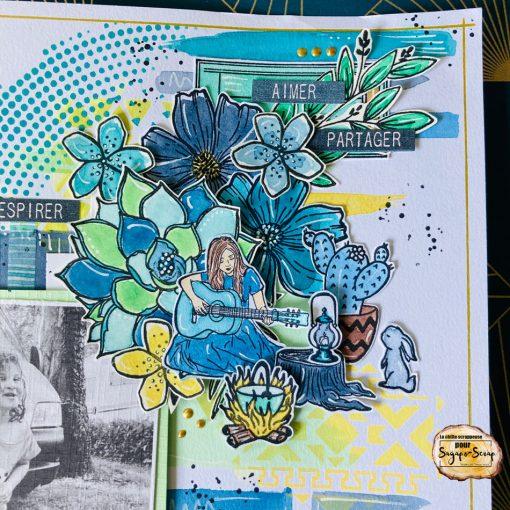 Page scrap Esprit Bohème 6