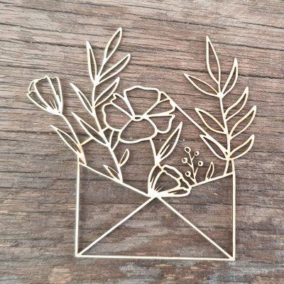 enveloppe-fleurie-2 decoupe carton bois