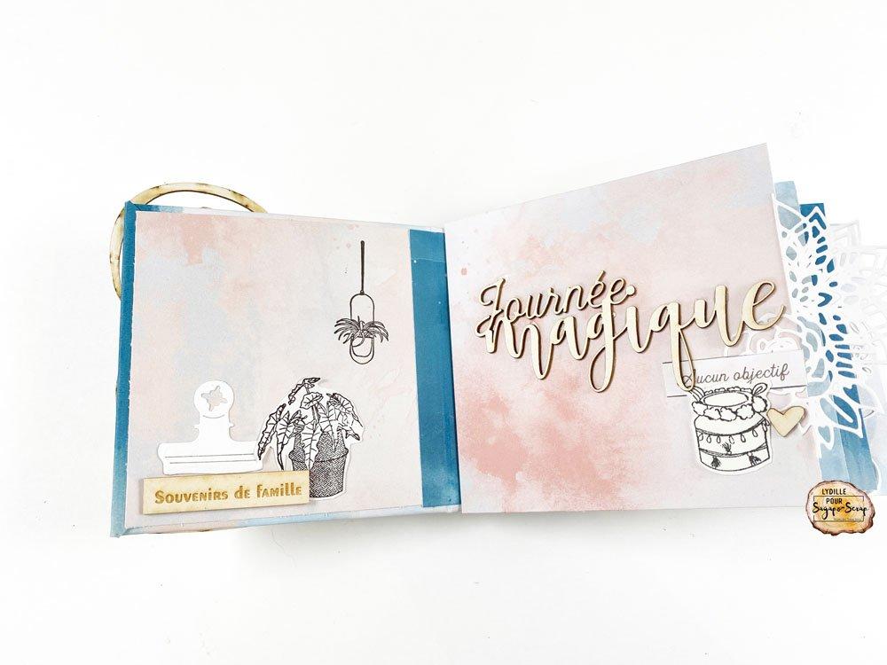 mini album anniversaire Lydille page 1