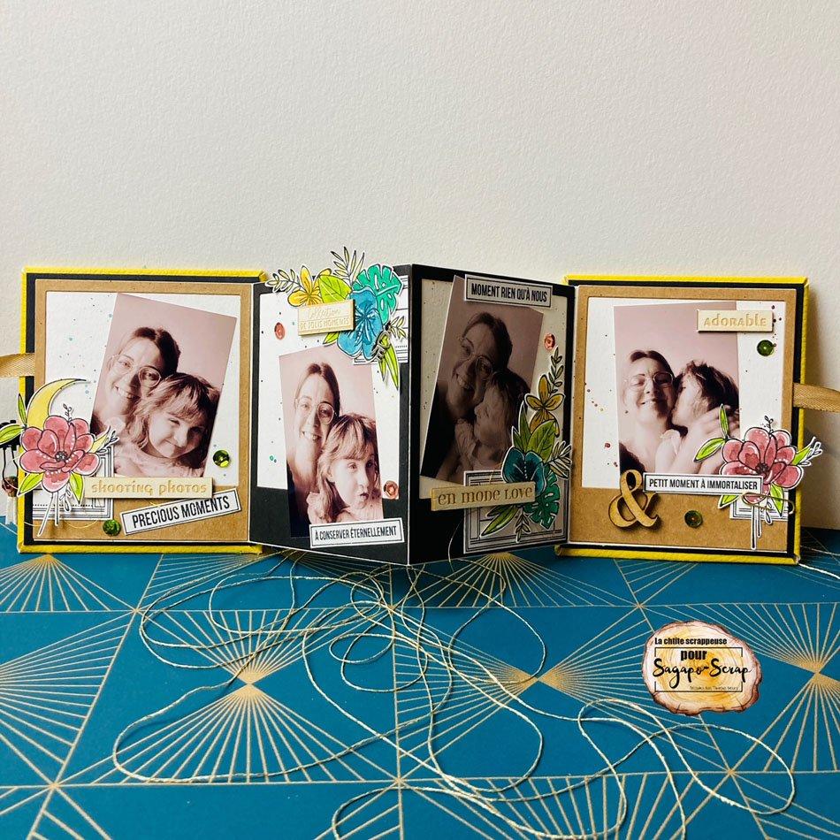mini-album rikiki home deco deplie