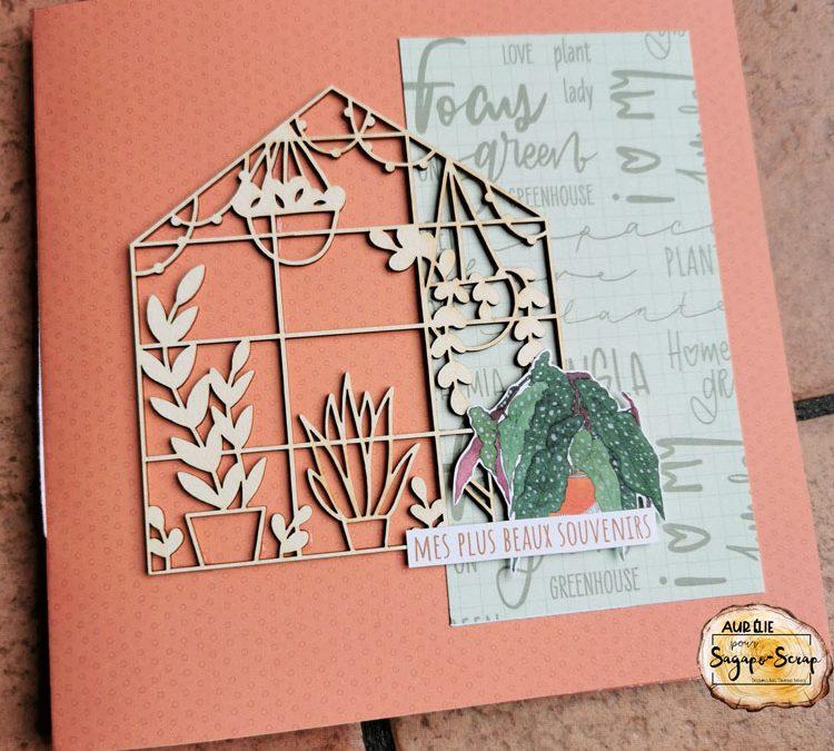 Mini-album So green par Petitelilie04