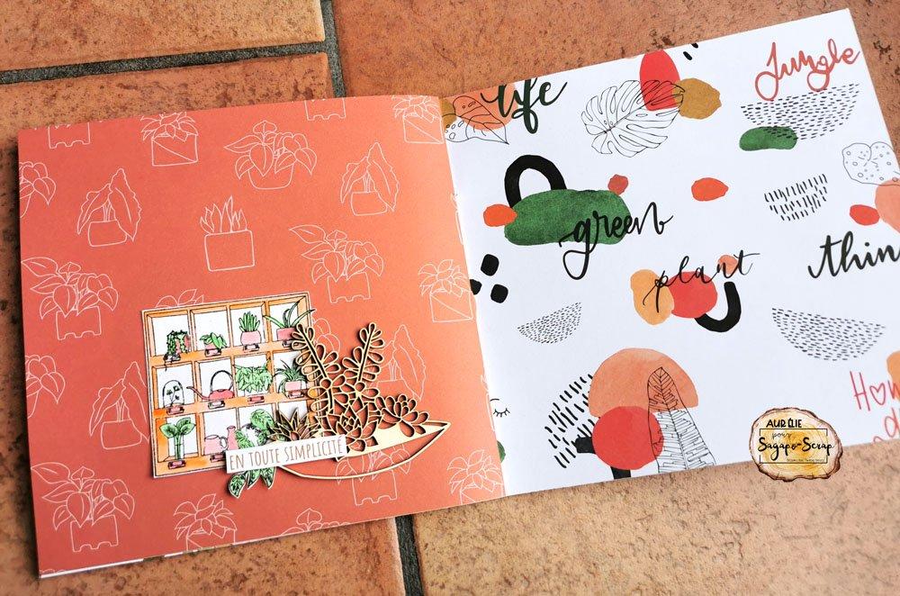 mini album so green detail petitelilie04