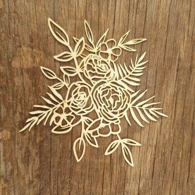 Bouquet-de-fleur-carton-bois