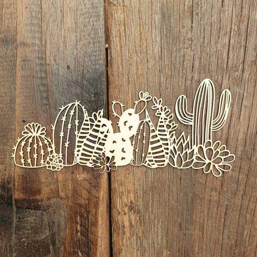 Carton-bois-bordure-de-cactus-du-désert