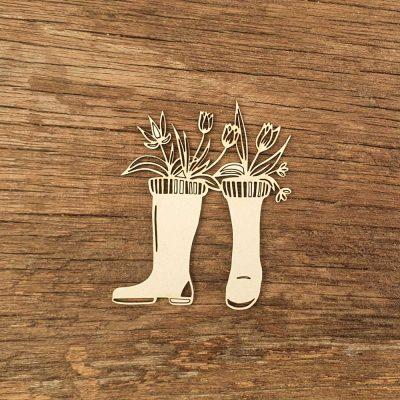Carton-bois-bottes-de-pluies-fleuries