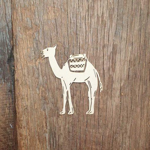 Carton-bois-dromadaire-du-désert-oriental