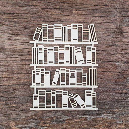 Carton-bois-étagère-de-livre-bibliothèque