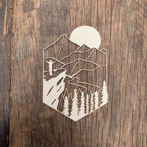 Carton-bois-paysage-norvége