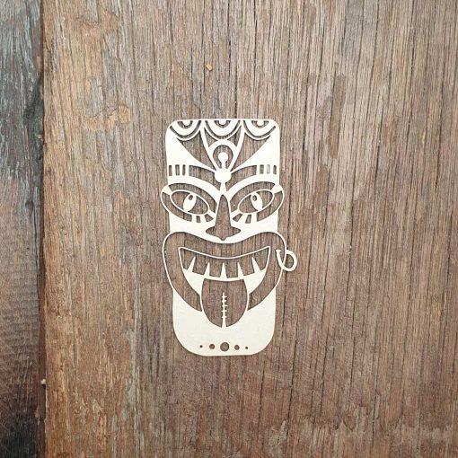 Carton-bois-totem-indien-ethnique