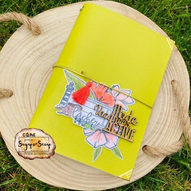 Traveller's Notebook couverture scrap
