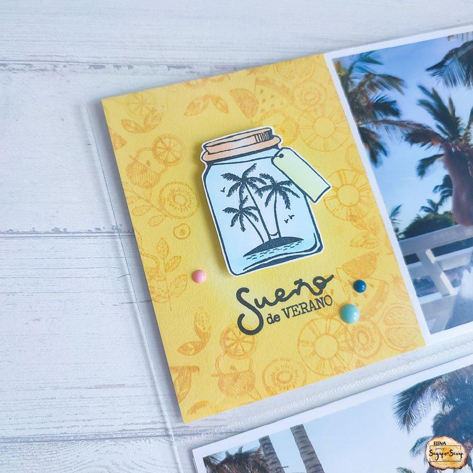 project life sable et mer flacon de palmiers