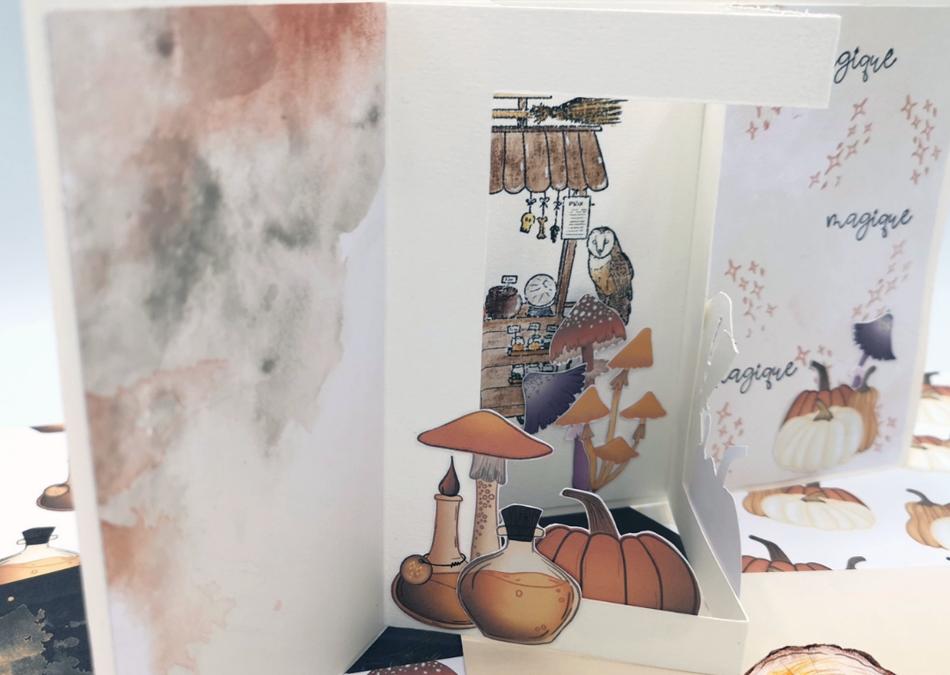 Carte vitrine « Magie de l'instant » par Chouette Fantaisie