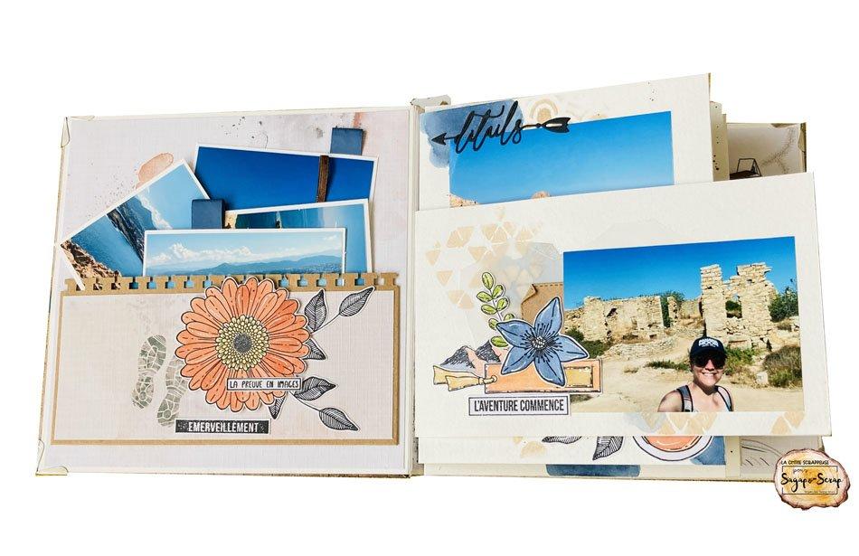 mini album corse la chtite scrapeuse page 1