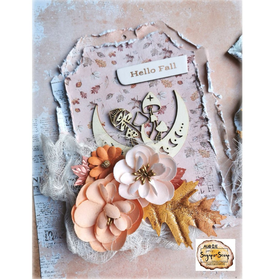 tag shabby theme automne champignon