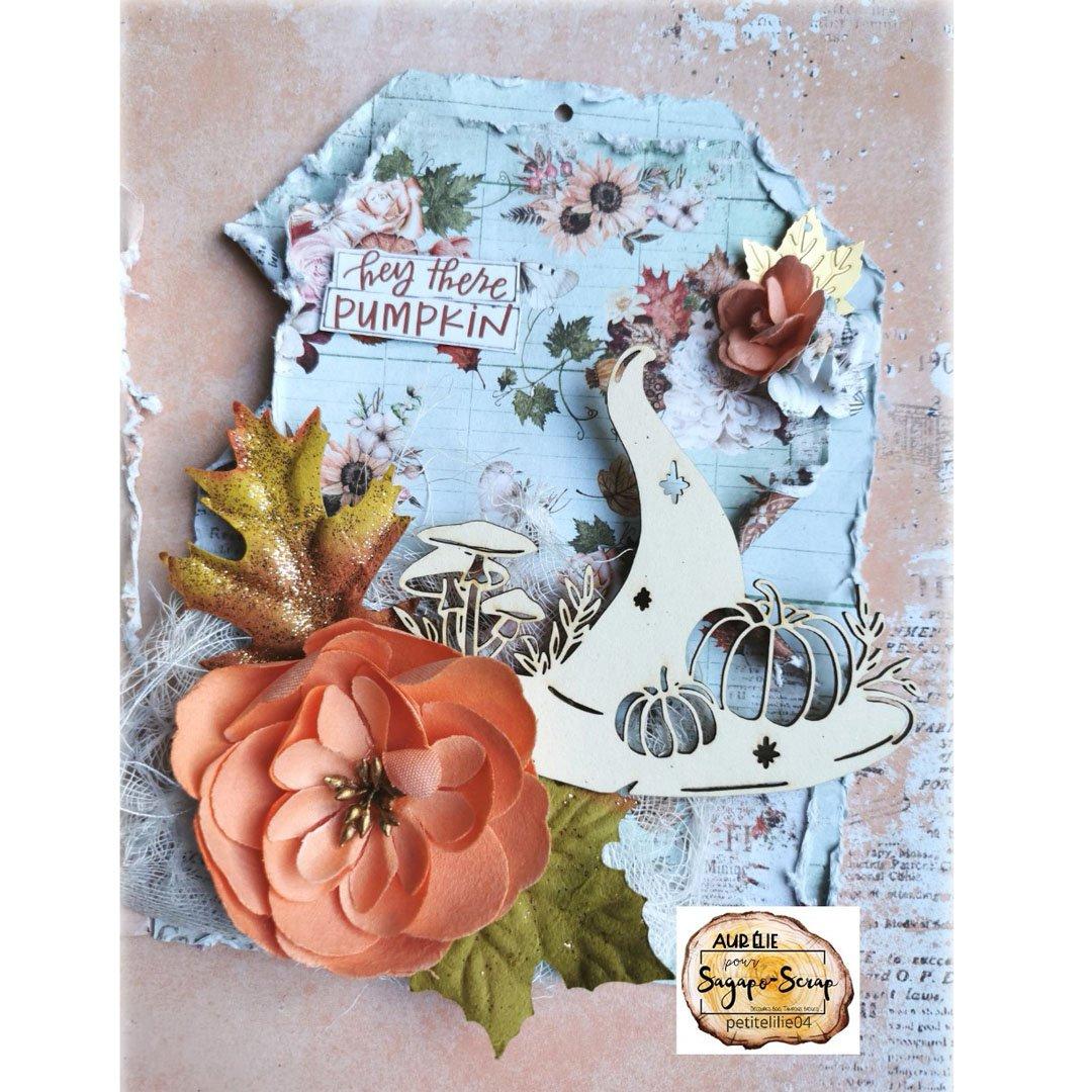 tag shabby theme automne citrouille